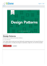 Gang Of Four Design Patterns Pdf Free Download Design Patterns Cheat Sheet By Cheatography Download Free