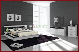 bedroom furniture black and white. Awesome Draco Black And White Contemporary Bedroom Furniture Sets Xiorex Pic Of Trend Style