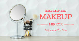 best lighted makeup mirror 2019 reviews and top picks