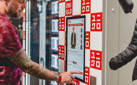 Selling Vending Machines Fascinating Uniqlo Tries New Approach Shirts In Vending Machines WSJ