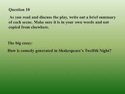 shakespeare s twelfth night objectives in this unit you will be 18 question