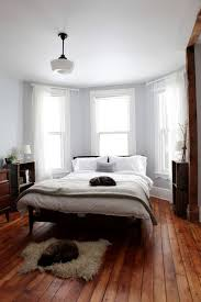 Image Floor Decorating Peaceful Bedroom Residence Style Give Artistic Look To Your Bedroom With White Wooden Flooring