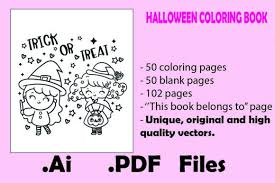 Philosopher mode on our journey is coming to an end, but there is one last question… what is the color of a blank canvas? 50 Pages Halloween Coloring Book For Kids Mash Ie