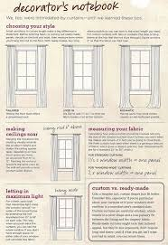 standard curtain lengths. Curtain Tips By Dominomag.com Standard Lengths U