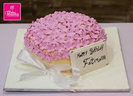 Pink Tiny Flowers Birthday Cake Online Custom Cakes Cake Feasta