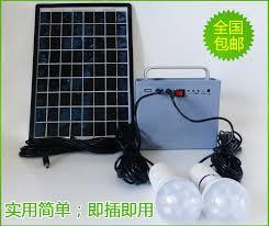 ps10w2 portable solar lighting system