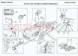 alarm and immobilizer system for ferrari california scuderia car Immobilizer Wiring Diagram ferrari california alarm and immobilizer system omega immobilizer wiring diagram