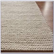 chunky braided wool rug uk