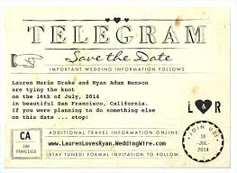 Telegram Wedding Invitation Template Addressing S Free Sample On ...