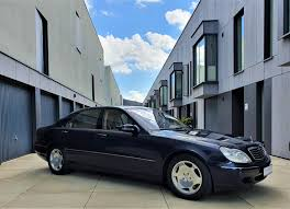 Mercedes maybach s600 ridiculously expensive but a staggering. Rare Rides A 2000 Mercedes Benz S 600 Designo Bespoke In Blue