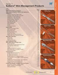 Kellum Grip Chart Kellems Wire Management Products Section T Manualzz Com