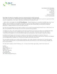 Cover Letter For Resume Email Resumes And Cover Letters Samples Job