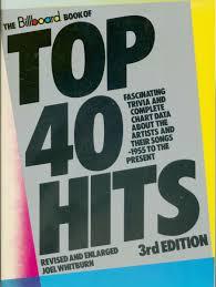 Billboard Charts 1955 Joel Whitburn The Billboard Book Of Top 40 Hits