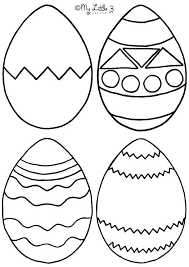 Easter Templates Moms Who Think Egg Coloring Pages Page Home Improvement Large Easter