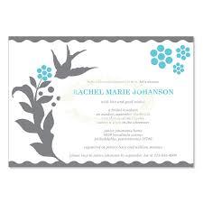 Free Bridal Shower Invitations Templates Mesmerizing Blue Gray Bridal Shower Invitation Templates Vanessa Rain Do It