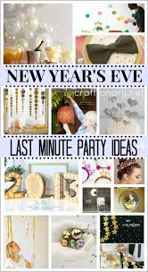 nye last minute ideas diy new years eve