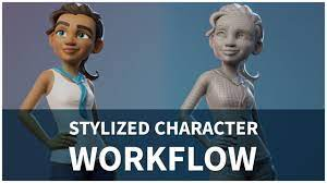 Stylized Character Workflow with Blender - YouTube