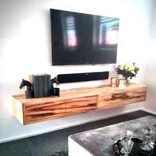 wall shelves for components floating shelf under unit white wood tv equipment f