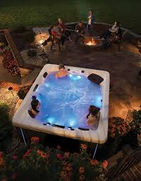 wow guests with party perfect hot tubs