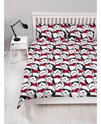 star wars episode viii stormtrooper double duvet cover set
