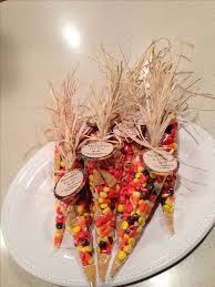 Thanksgiving place setting or thank you gift. Easy to make. I filled icing  bags
