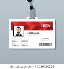 Company Id Card Template 1000 Company Id Card Stock Images Photos Vectors