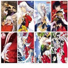 Poster Inuyasha Khuyển Dạ Xoa tranh treo tường in hình anime chibi tặng ảnh  thiết kế vcone | undefined