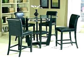 round bar top table tall round bar table glass top bar table glass top bar table