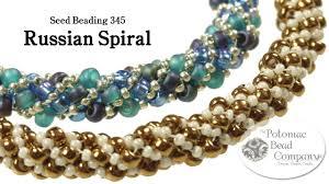 Spiral Beads Design Make A Russian Spiral Bracelet Or Necklace