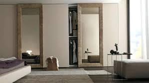 closet doors with mirrors mirror installation removing stanley mirrored sliding door