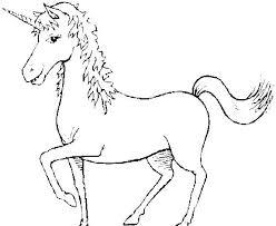 Altro Unicorno Da Stampare E Da Colorare Gratis Disegni Da