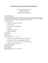 Pharmacy Technician Resume Templates Examples Of Pharmacy Technician Resumes Examples Of Resumes Pharmacy 16