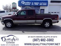 Stock# 05120 USED 2001 Chevrolet Silverado 1500 | Casper, WY ...