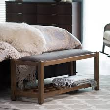Full Size Of Bench:leather Bench Brown Bedroom Benches Faux Gray Storage  Diy With Bedroom ...