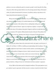 speech analysis or presentation example topics and well written  speech analysis essay example