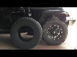 35 Inch Tires For My Jeep Wrangler Review And Comparison Between 33 And 35 Inch Tires