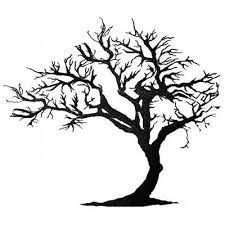 Tree Design Black Ink Tree Design Water Transfer Temporary Tattoo Fake Tattoo
