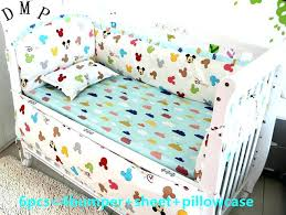 new born baby bedding sets crib bedding sets for girls cartoon crib baby bedding set for