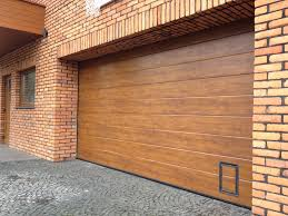 how to paint fine decoration steel garage doors that look like wood home use garage doors well isolated antirust