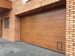 paint fine decoration steel garage doors that look like wood home use garage doors well isolated antirust