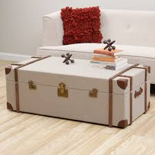Steamer Trunk Furniture Furniture Steamer Trunk Coffee Tables With Nailhead Trunk Coffee