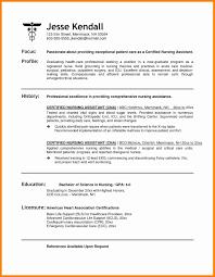 Magnificent Free Printable Cna Resume Ideas Documentation