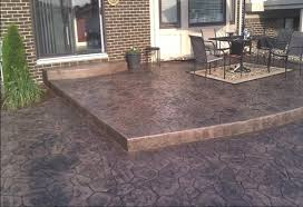 pros and cons of stamped concrete vs interlock pavers imagineer stamped concrete vs pavers