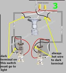 3 way switch wiring diagrams do it yourself help readingrat net leviton 3-way dimmer switch installation instructions at Leviton 3 Way Wiring Diagram