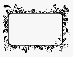 flower frame clipart copy and paste