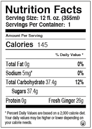 extra ginger 78x300 extra gigner brew nutrition