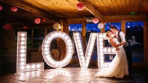 Wedding Love Lights Light Up Love Sign Wedding Letter Hire