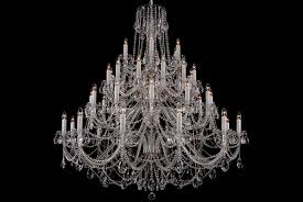 the largest clear crystal chandelier with silver coloured metal pertaining to huge crystal chandeliers