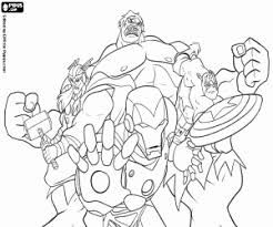 Small Picture Avengers coloring pages printable games