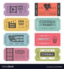 tickets template template of cinema tickets designs of